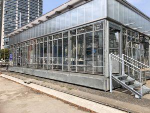 Das Bauhaus reuse von außen
