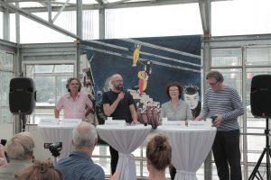 Die Pressekonferenz zur Bauhauswoche Berlin